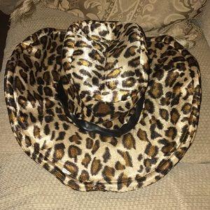 🐆 EUC Costume Leopard Print Hat